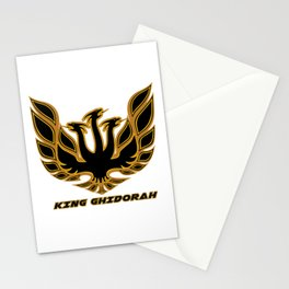 King Ghidorah Retro Style Stationery Cards
