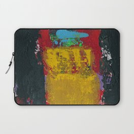Baron Modern Art Black Laptop Sleeve