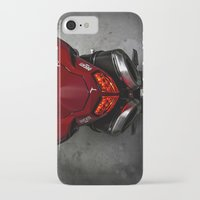 ducati iPhone & iPod Cases featuring Ducati 1198 SP by Elias Silva Photography