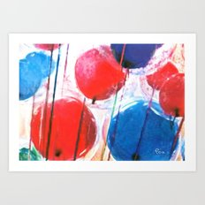 BIRTHDAY BASH Art Print