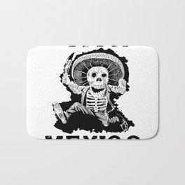 Viva Mexico Mad Dead Mariachi Bath Mat