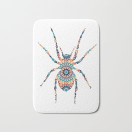SPIDER SILHOUETTE WITH PATTERN Bath Mat