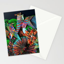 2 Caballeros and a Koi Stationery Cards