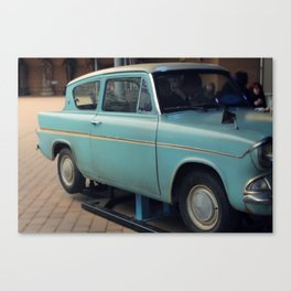 Weasley Car Canvas Print