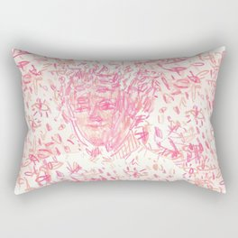 Elf Eyes Rectangular Pillow