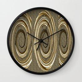 Neutral Spin X Three Wall Clock