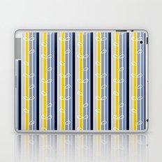 flower stripe Laptop & iPad Skin