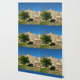 Rugged Landscape Tree Wallpaper