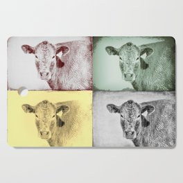 Here's Looking at Moo Cutting Board