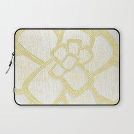 Brom yellow Laptop Sleeve