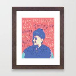 Ida B Wells Framed Art Print