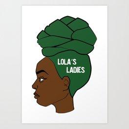 Lola's Ladies Kunstdrucke