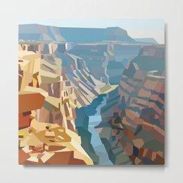Geometric Grand Canyon National Park, USA Metal Print