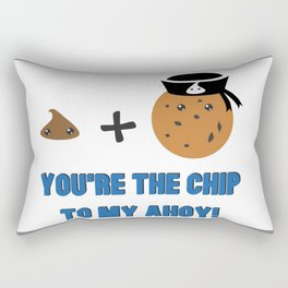 Chip Ahoy! Rectangular Pillow
