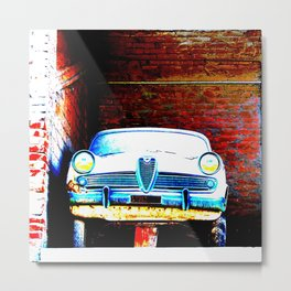 The car in the attic Metal Print
