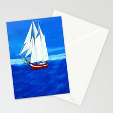Sailing away  Stationery Cards