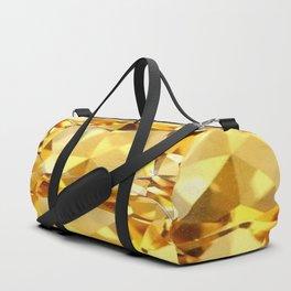 CHAMPAGNE TOPAZ GEM SEPTEMBER BIRTHSTONE ART Duffle Bag