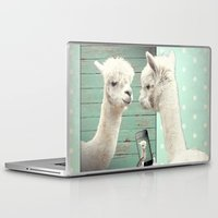 selfie Laptop & iPad Skins featuring SELFIE by Monika Strigel