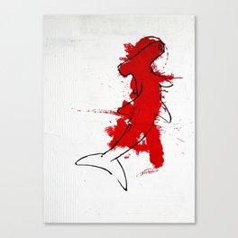 tiburó Canvas Print