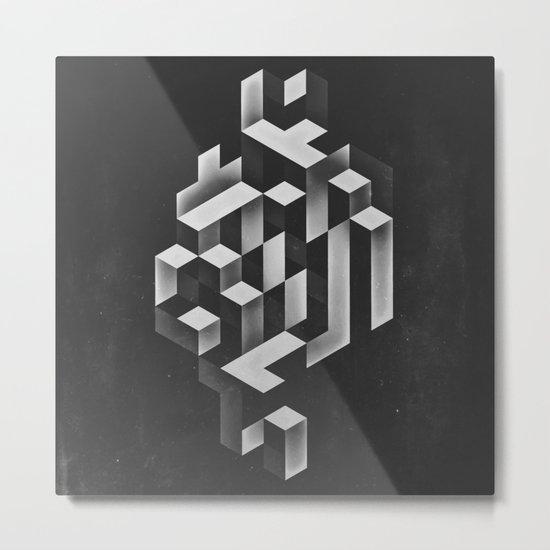 isyhyrrt gryy Metal Print