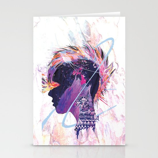 Howling Stationery Cards