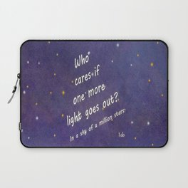 A Million Stars Laptop Sleeve