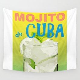 Mojito de Cuba Wall Tapestry