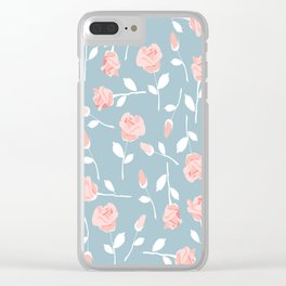 June roses Clear iPhone Case
