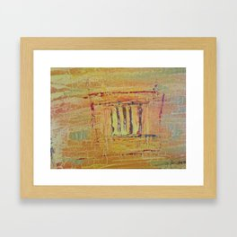And it was called YELLOW....... Framed Art Print