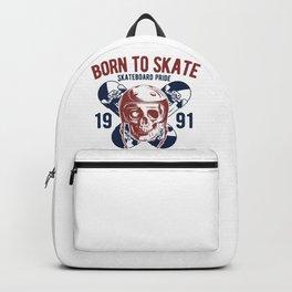 Born to Skate Backpack