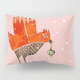 Christmas Bird - illustration Pillow Sham