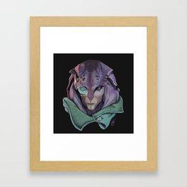 Jaal: Andromeda Framed Art Print