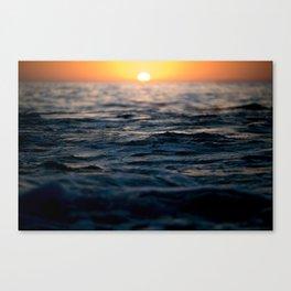 Newport Beach Sunset  Canvas Print