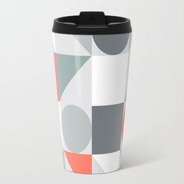 Mid Century Modern Geometric 02 Travel Mug