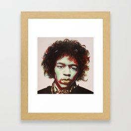 Jimi Hendrix Framed Art Print