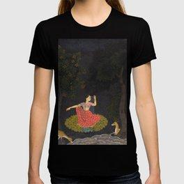 A Heroine Waiting for Her Paramour Vasakasajja Nayika - 18th Century Classical Indian Art T-shirt