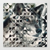 into the wild Canvas Prints featuring wild by Vin Zzep