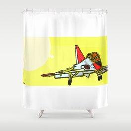 Training - Sunset Landing Shower Curtain