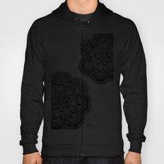 Mandalas in black Hoody