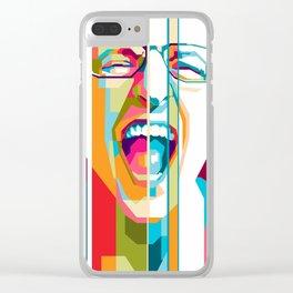Chester Bennington Clear iPhone Case