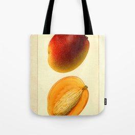 Vintage Botanical Mango Tote Bag