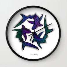 SHARK CIRCLE II Wall Clock