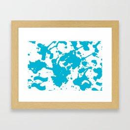 Ble Framed Art Print