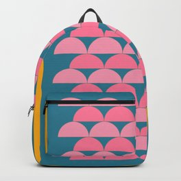 Cute Vibrant Shape Art Backpack