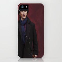Sherlock || The Empty Hearse iPhone Case