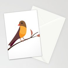 Yellow Breasted Bird Stationery Cards