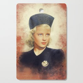 Mary Carlisle, Vintage Actress Cutting Board