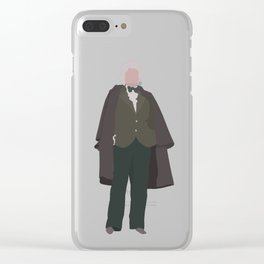 Third Doctor: Jon Pertwee Clear iPhone Case