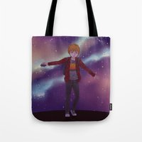 star lord Tote Bags featuring My little Star-Lord by MaliceZ