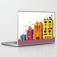 buildings Laptop & iPad Skins featuring Buildings by Luis Pinto